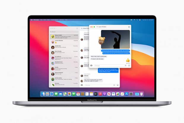 Apple значительно изменила дизайн macOS