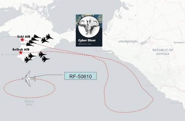 ВКС России отработали массированный авианалёт на эсминец США в Черном море