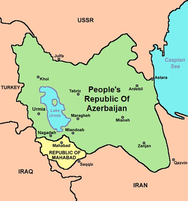 Как Сталин пытался захватить Иран