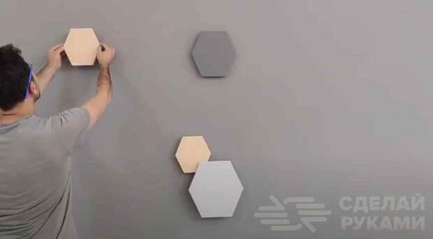 Как недорого и оригинально украсить стену в доме