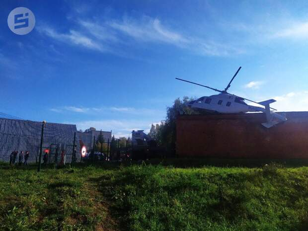 Решение о сотрудничестве с компанией, чей вертолет совершил жесткую посадку в Ижевске, примут после проверки инцидента