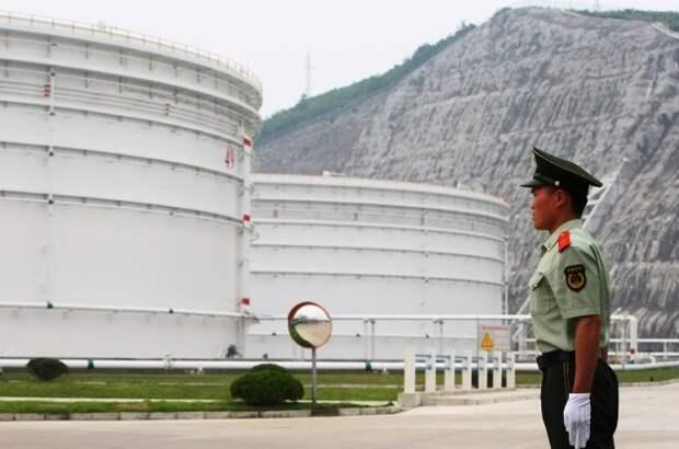 КНР запасы нефти