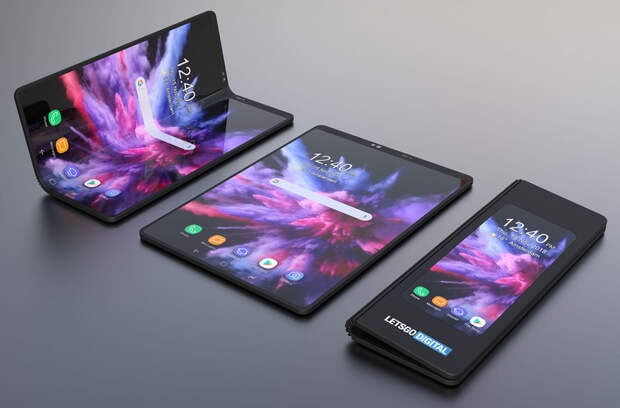 В 2020 году Samsung выпустит еще два гибких смартфона