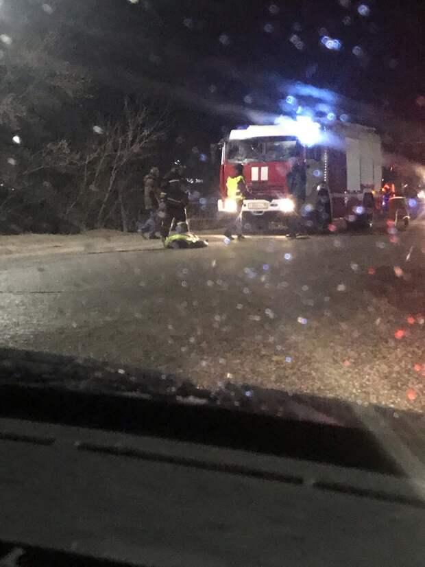 Водитель в Можге въехал в группу дорожных рабочих: два человека погибли