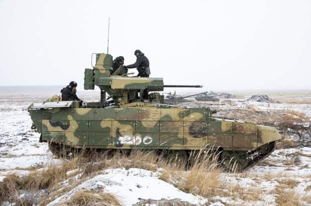 Боевые машины поддержки танков БМПТ наконец поступили в войска