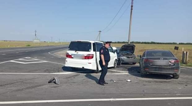 В Крыму пять человек пострадали в ДТП