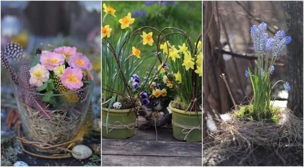 Пасха: лучшие идеи украшений с цветами и рецепт кулича от Елены Родительской