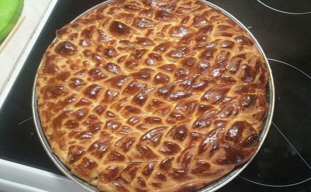 Пирог с капустой и яйцами пирог, вкусняшки, когда нечего делать, длиннопост