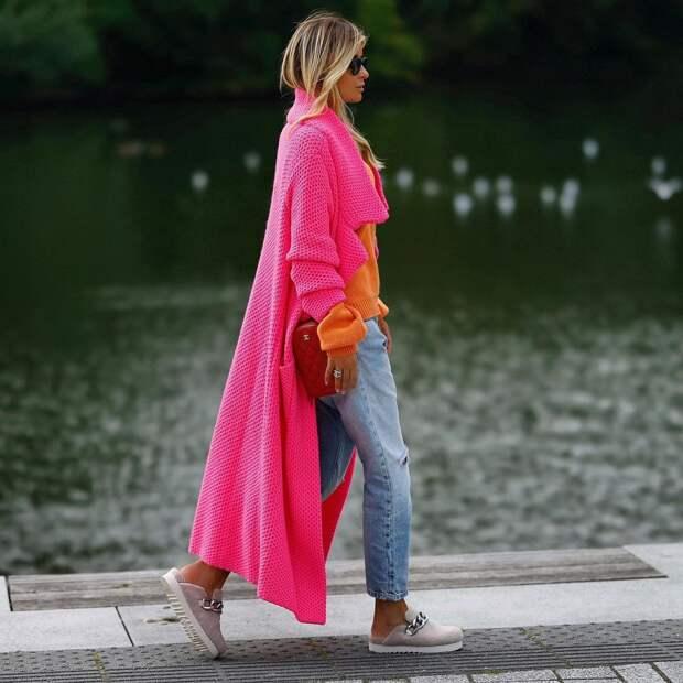 С чем носить кардиган: 30 модных идей, которые стоит взять на заметку