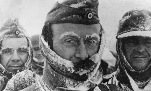 Немцы, мягко говоря, не были готовы к русской зиме.