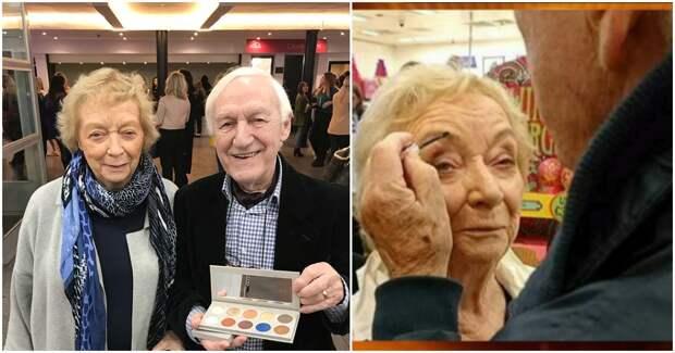 Чтобы сделать макияж своей жене, муж освоил профессию визажиста в 84