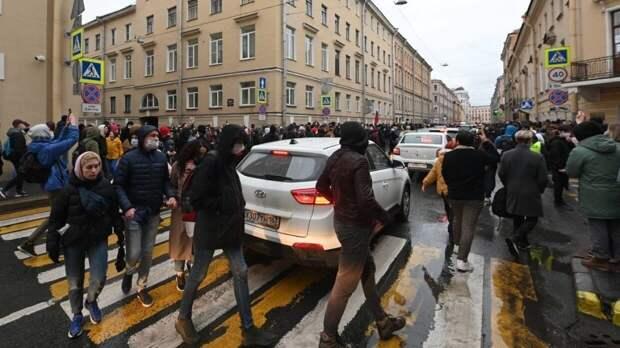 СМИ назвали возможную причину провала незаконной акции в поддержку Навального