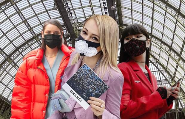 Медицинские маски звёзд и блогеров (трафик)