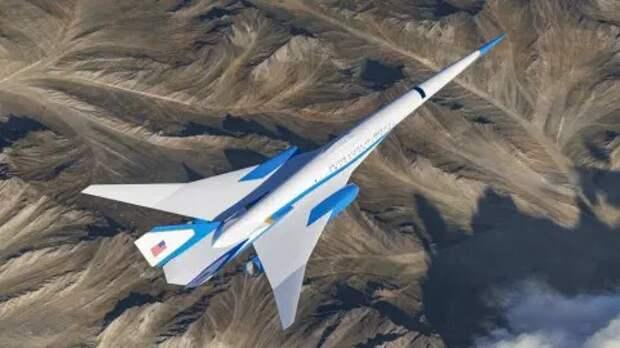 Как выглядит реактивный самолет президента США, который летает почти В ДВА раза быстрее звука