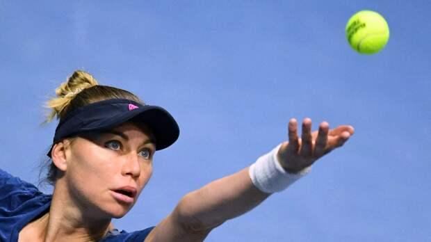 Звонарёва проиграла Ферро во втором круге турнира WTA в Стамбуле
