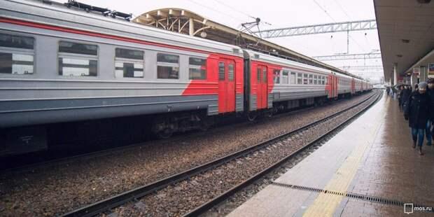 Расписание пригородных электричек от станции Ховрино изменится в апреле