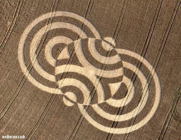 Все версии происхождения кругов на полях