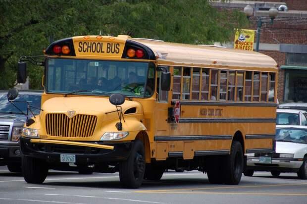 Факт, который вы, возможно,  не знали о школьных автобусах в США