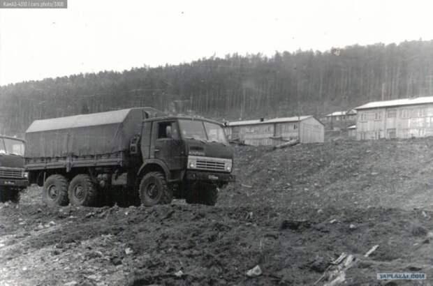 Тактический трехосник. История рождения КамАЗ-4310