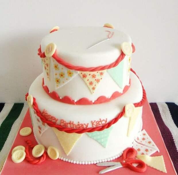 торт о шитье