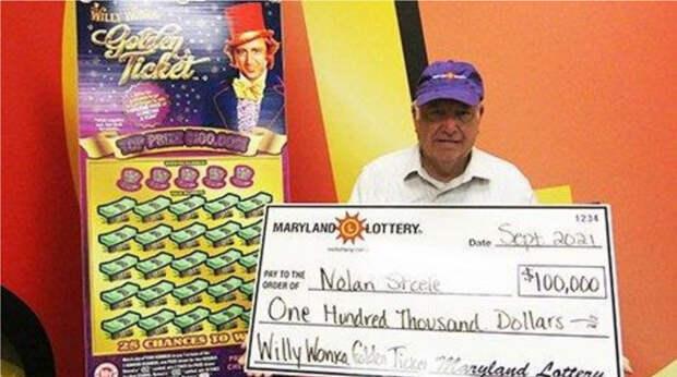 """""""Тихий голос посоветовал"""": американец сорвал крупный куш в лотерею"""