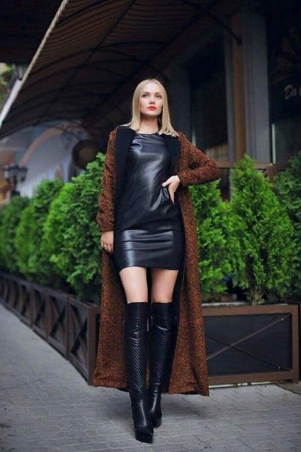 С чем модно носить сапоги в 2020: стильные сочетания
