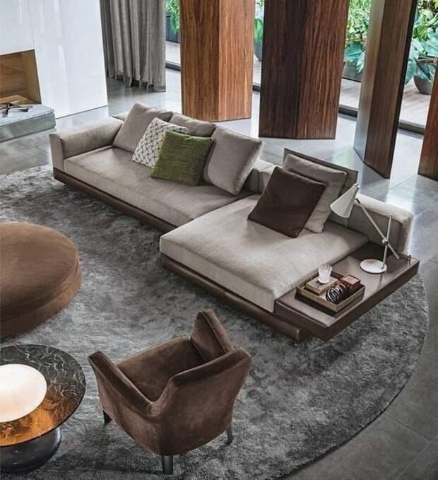 Элементы дизайна интерьера в современном стиле