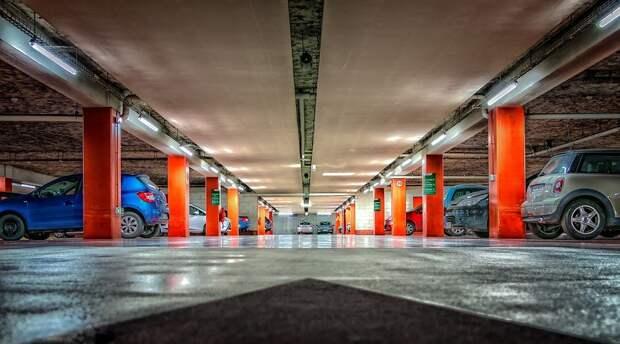 Многоэтажные Автостоянки, Подземная Автостоянка, Парк