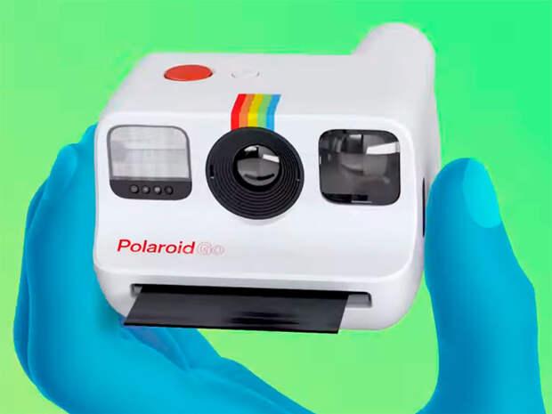 Компания Polaroid выпустила самую компактную камеру с функцией мгновенной печати снимков