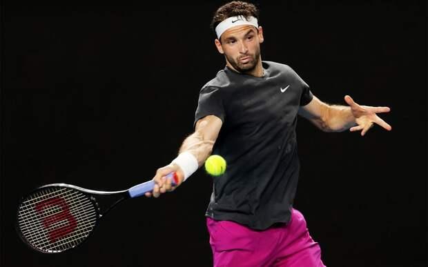 Димитров назвал Карацева очень опасным соперником перед встречей в 1/4 финала Australian Open