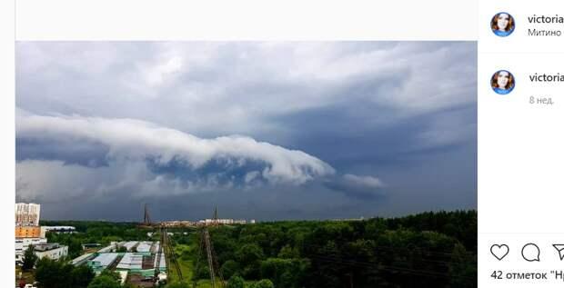 Фото дня: надвигающeecя цунами