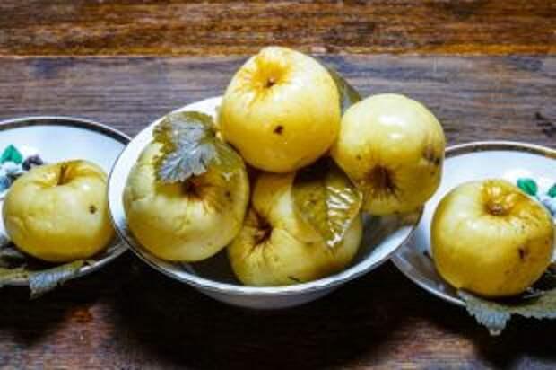 Молодильные яблочки: мочёные сладости на зиму