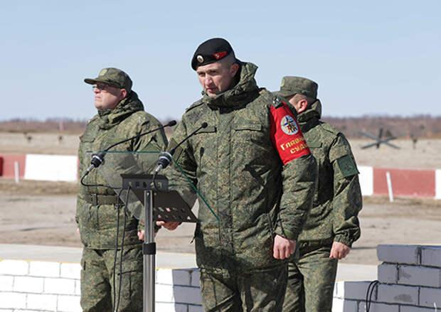 На полигоне ДВОКУ стартовало Всероссийское первенство Сухопутных войск по армейской тактической стрельбе из стрелкового оружия