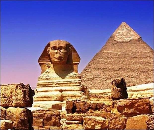 Что скрывает египетский сфинкс