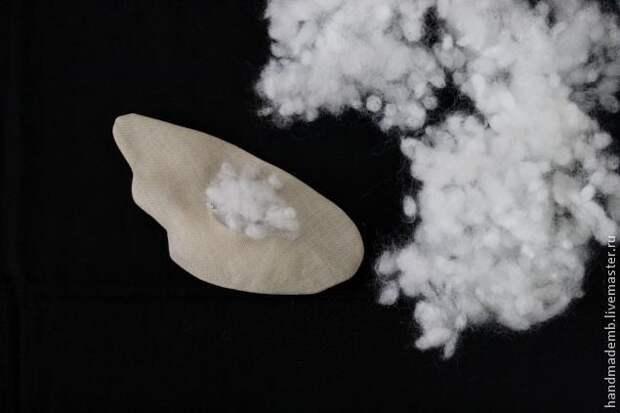 Пасхальная курочка из ткани. Мастер-класс