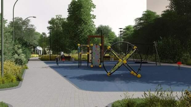 Альпийские горки и спортивная площадка появятся в парке «Некрасовский бульвар»