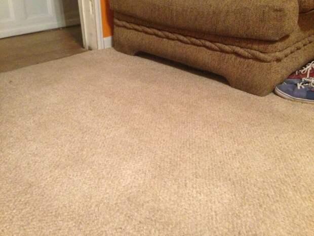 Эффективное устранение старых пятен на ковре