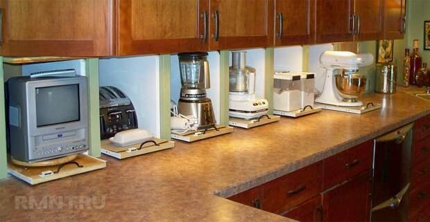 9 шагов к грамотному размещению мелкой техники на кухне