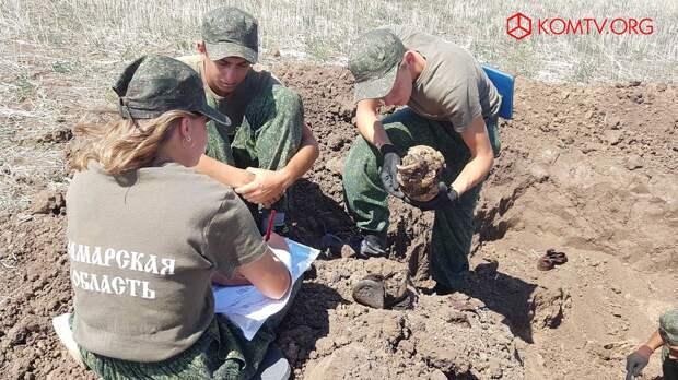 В Ленинском районе провели «Вахту памяти» по поиску неопознанных солдат ВОВ