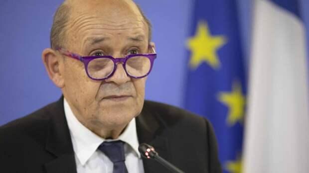 Глава МИД Франции осудил санкции России против Евросоюза