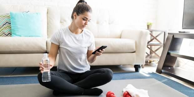 Столичным жителям рассказали, как поддерживать спортивную форму в домашних условиях