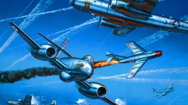 Американцам напомнили о воздушном бое 70-летней давности, который стал позором ВВС США