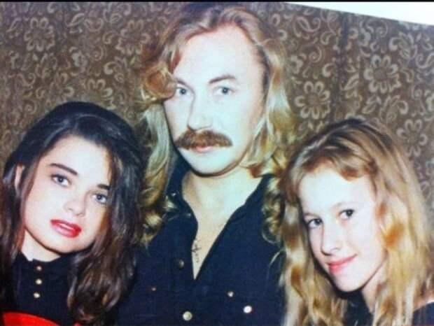 Наташа Королева, Игорь Николаев и юная Ксения Собчак, 1990е