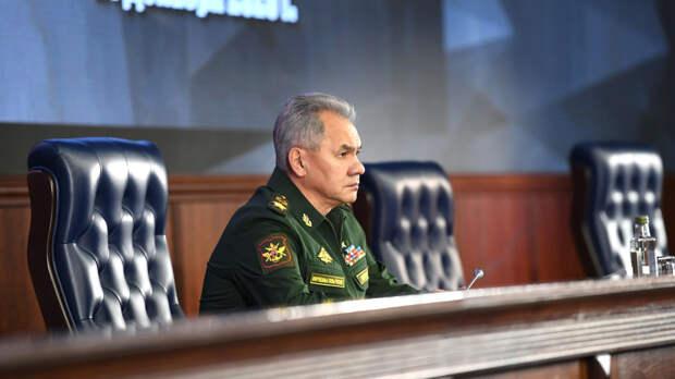 Шойгу: военные ВС России отслеживают действия НАТО в районе будущих учений Альянса