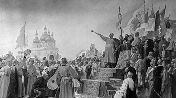 Lenta.ru: На Украине не раз предавали Россию и объединялись с ее врагами. Кто виноват?