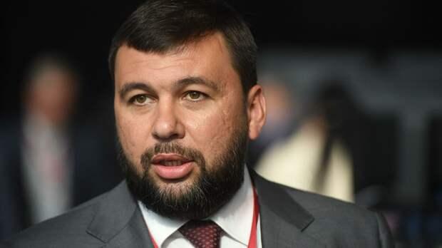 Пушилин назвал взрыв на газопроводе в Донецке терактом