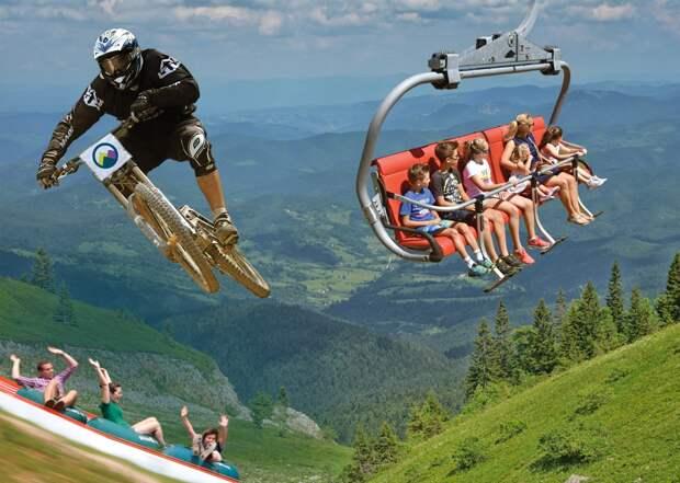 Гора Яхорина – самая популярная в БиГ