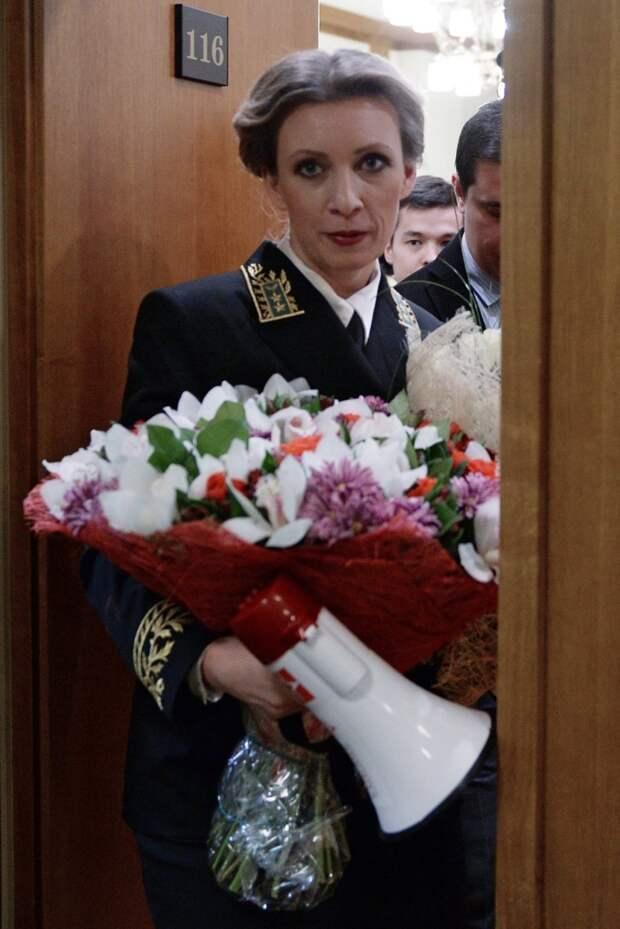 Мария Захарова: людям почему-то кажется, что я летаю на облаке