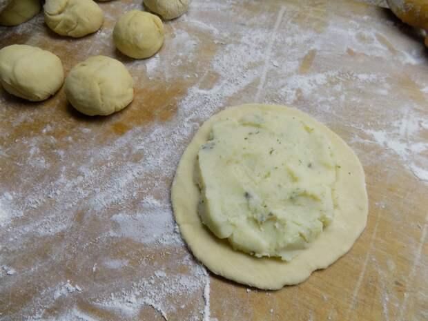 Перемячи с картофельным пюре