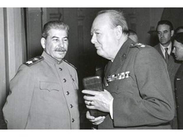Исторические анекдоты: противостояние И. Сталина и У. Черчилля